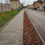 Rekonstrukce jižního chodníku v Máchově ul.