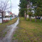 Chodník ul. Žižkova včetně veřejného osvětlení