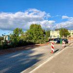 Parkoviště v ulici Lužická v Jaroměři