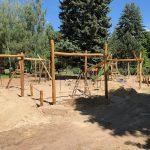 Dětské hřiště u knihovny na křižovatce ul. Albieriho a V. Probošta se dočká kompletní výměny herních prvků