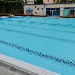 Oprava bazénů v plaveckém areálu