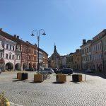 Veřejná prostranství v centru města – využívání srážkových vod a ochlazení prostoru