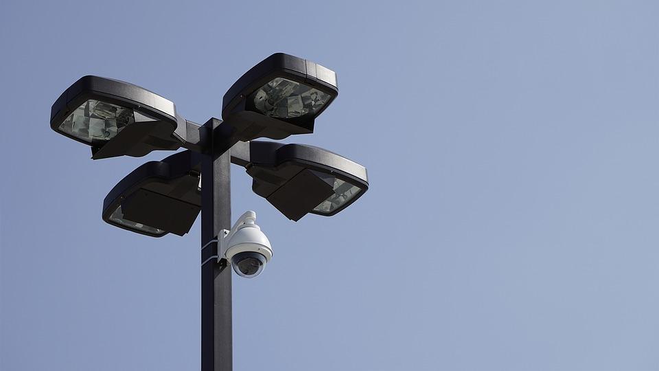 Kamerový systém na dopravním terminálu v Jaroměři